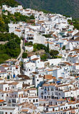 The white villiage of Frigiliana, Andalucia, Spain Royalty Free Stock Photos