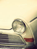 White vintage car Royalty Free Stock Photos
