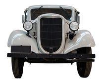White Vintage Car. Isolation Of A White VIntage Car Stock Photos
