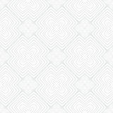 White vintage geometric texture in art deco style. For Christmas and holiday decor or wedding invitation background. Seamless vector pattern for winter fashion Vector Illustration