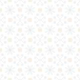 White vintage geometric texture in art deco style Royalty Free Stock Photos