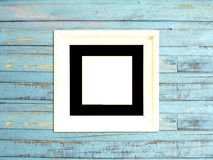 White Vintage picture frame Stock Image