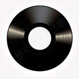 White vinyl lp Royalty Free Stock Photo