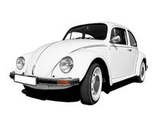 Free White Volkswagen Beetle Royalty Free Stock Images - 40333069