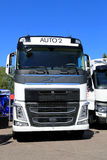 White Volvo FH Truck, Front View Royalty Free Stock Images