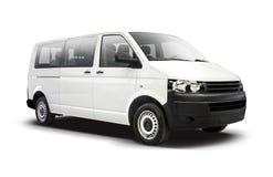 White VW Transporter Royalty Free Stock Images