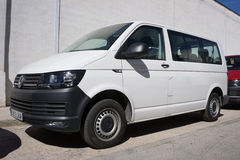 White VW Van Stock Photography