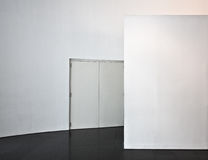 White wall Stock Photos