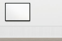 White Wall Royalty Free Stock Photography