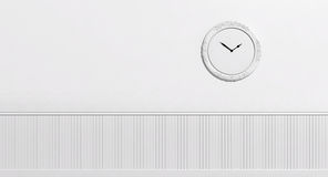 White Wall clock Royalty Free Stock Photos