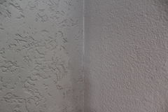 White wall corner. A white painted wall corner Stock Photography
