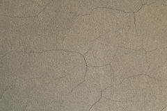 White wall with cracks Royalty Free Stock Image