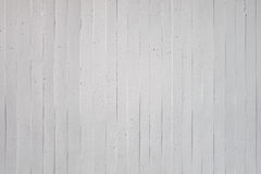 White wall of exposed concrete Royalty Free Stock Images