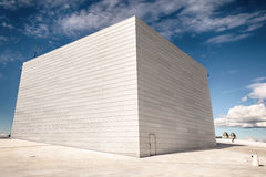 White wall of norway opera house, Norway Stock Images