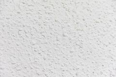 White wall painted with gotele technique royalty free stock image