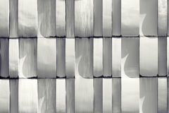 White wall pattern - architectural detail. Abstract texture back Stock Photo