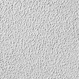 White wall with plaster, seamless texture Stock Image