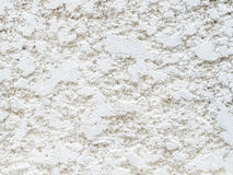 White wall texture. Handmade concrete white wall texture royalty free stock image