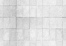 White wall with tiling. Seamless background texture Stock Image