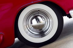 White Wall Tire Stock Photography