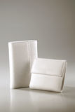 White wallet Royalty Free Stock Photography