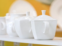White ware Royalty Free Stock Photography