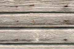White Wash Boards. Old and weathered Stock Images