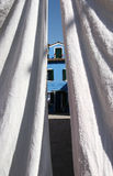 White wash in Burano island, Venice Stock Photo