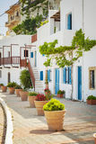 White washed houses in Greece Stock Photography