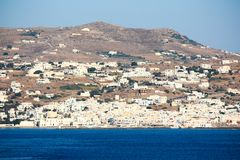 White washed mykonos Royalty Free Stock Images