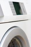 White washer. With large LCD display Stock Photography