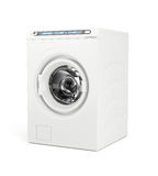 White washing machine Stock Photography