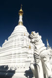 White Wat, Chiang Mai, Thailand Royalty Free Stock Photo