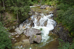 White water. In the mountains Stock Images