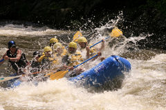 White Water Adventure Royalty Free Stock Images
