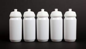 White water bottles Stock Images