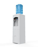 White Water Cooler Royalty Free Stock Photos