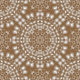 White water drops on brown background. Vector. Royalty Free Stock Images