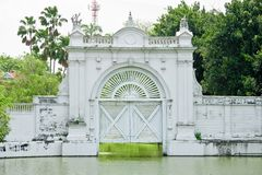 White Water gate Royalty Free Stock Photo