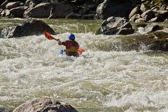 White water Kayaking Zamora Ecuador Stock Photos