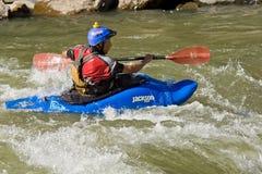 White water Kayaking Zamora Ecuador Royalty Free Stock Photo