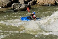 White water Kayaking Zamora Ecuador Stock Photography