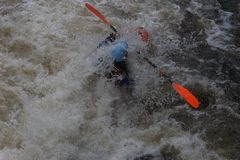 White water madness Stock Images