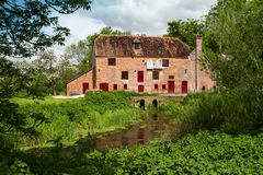 White Water Mill Stock Photo