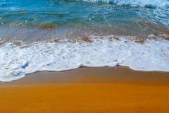 White water in Porto Ferro. Sardinia Stock Images