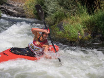 White water race Royalty Free Stock Photography