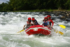 White Water Rafting in Cagayan De Oro Philippines Royalty Free Stock Photo