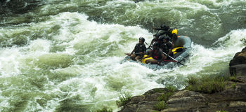 White Water Rafting in Kitulgala Sri Lanka Stock Photo