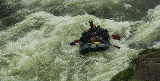 White Water Rafting in Kitulgala Sri Lanka Royalty Free Stock Images