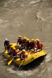 White water rafting in Nepal Stock Photography